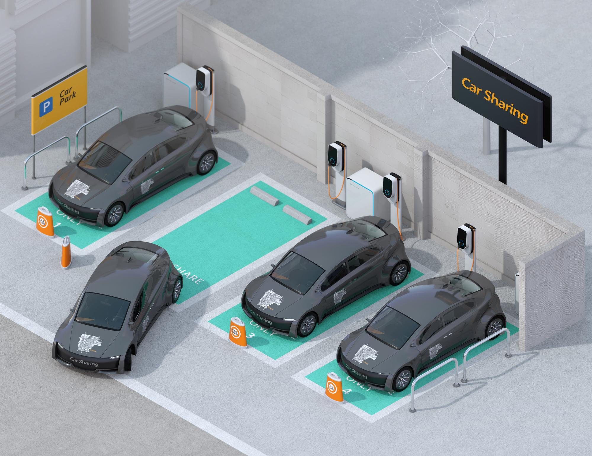 駐車場シェアリングサービス